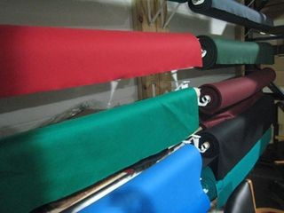 Pool table refelting, cloth colors, Milwaukee Wisconsin
