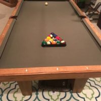 OLHAUSEN 8ft Slate Pool Table