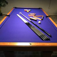 Olhausen 8' Pool Table With Extras (SOLD)