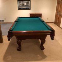 8' American Heritage Pool Table