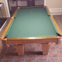 8' Brunswick Contender Pool Table