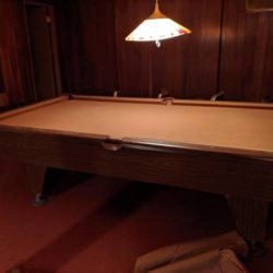 Custom Built Pool/Billiards Table(SOLD)