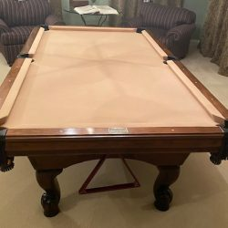 8ft All American Custom Solid wood Pool table