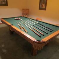 8' 3 in 1 Pool Table For Sale
